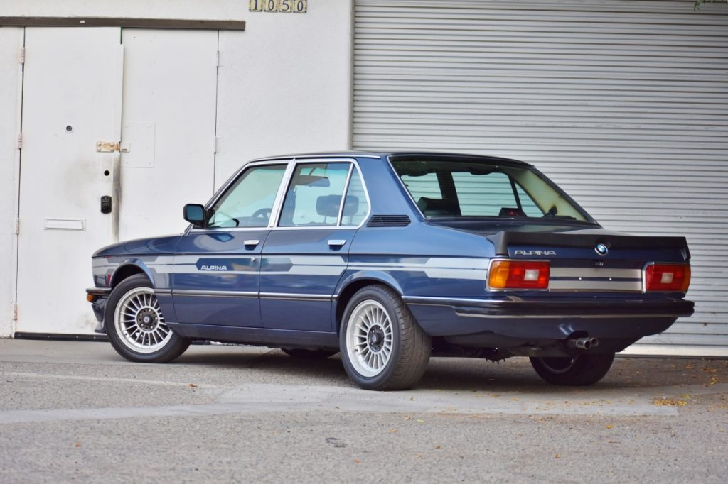 Individually Imported in the Eighties – 1979 BMW Alpina B8