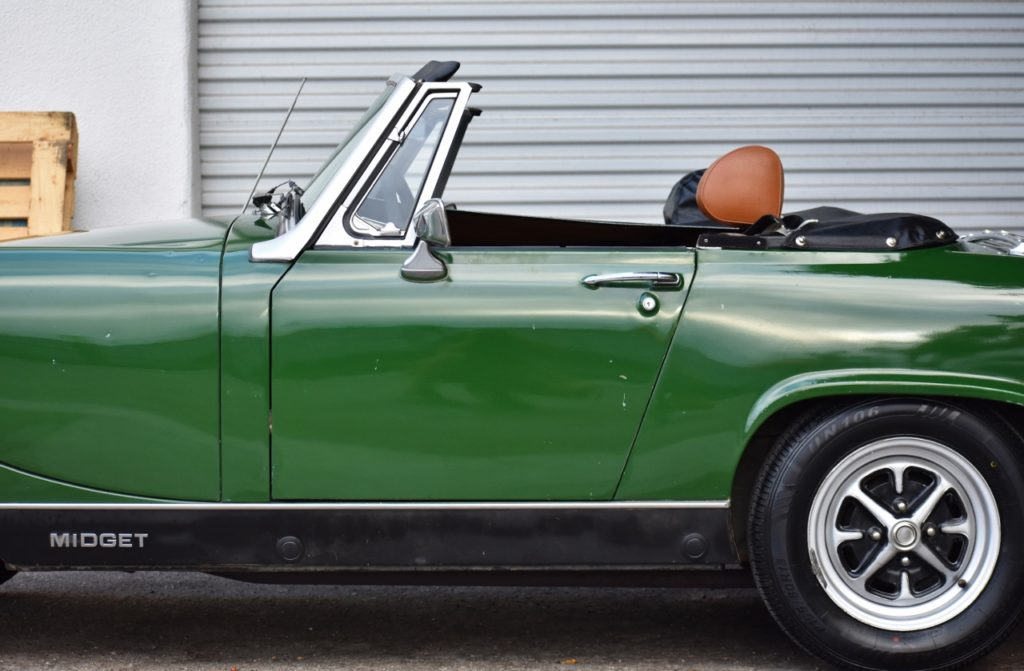 Lightweight and Low-Slung – 1976 MG Midget 1500 On Auction