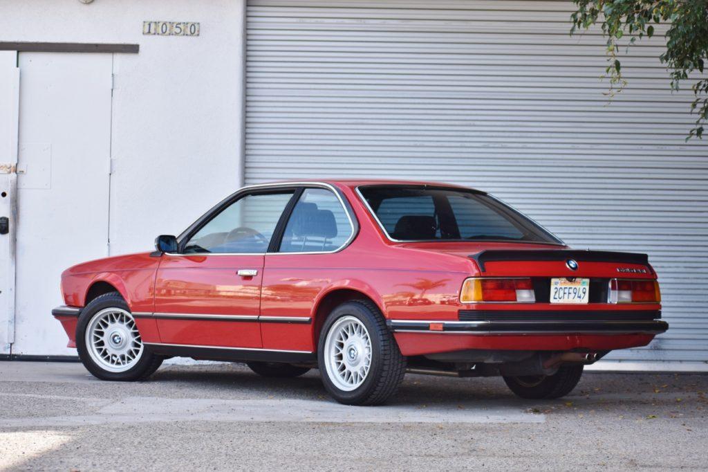 An Eighties European Expatriate 1985 Bmw 635csi 5 Speed Live Auction Wob Cars