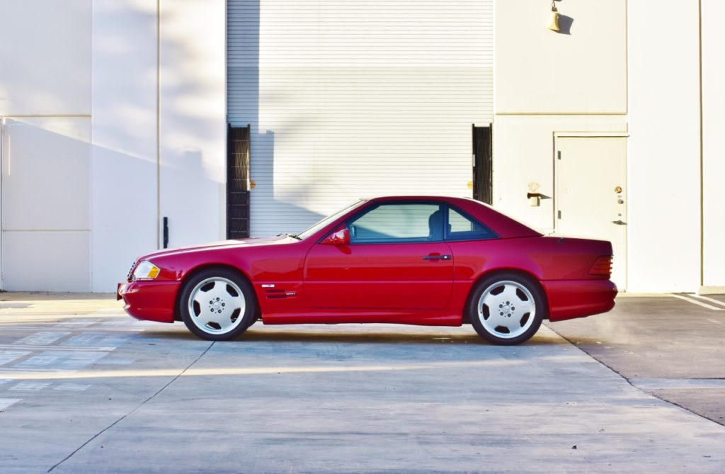Special Edition SL On Sale Now – 1995 Mercedes-Benz SL500 US