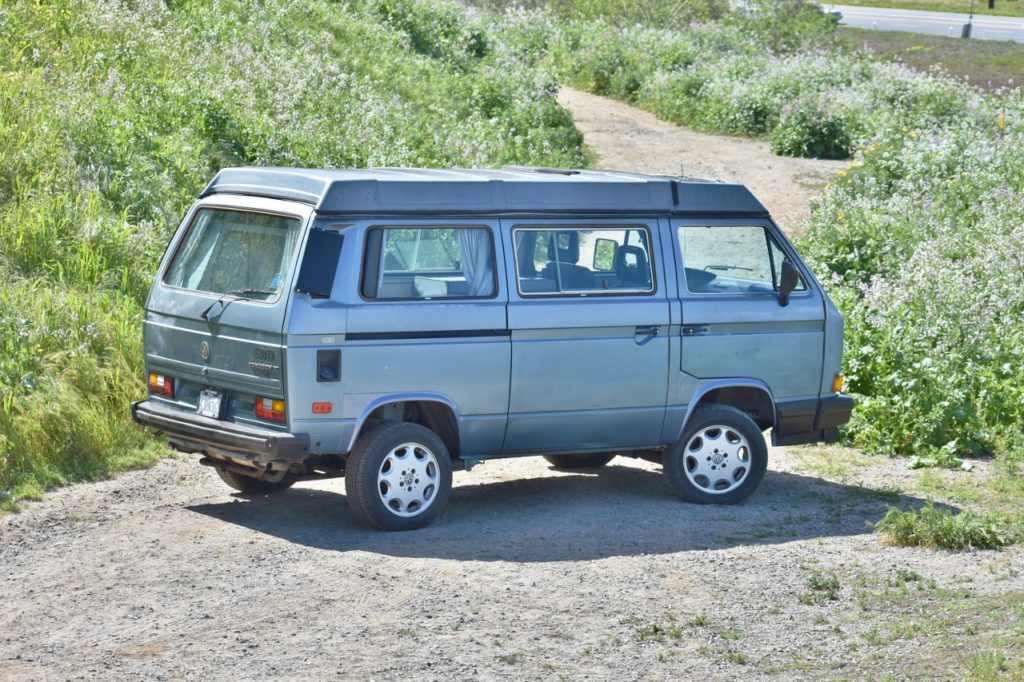 Gear Up Before Camping Season With This 1989 Volkswagen Vanagon Syncro Westfalia Wob Cars