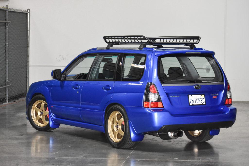 Build Your Own Subaru >> World Rally Wagon 2008 Subaru Forester Sports Xt 5 Speed